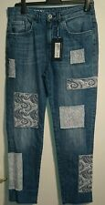 M & S limited edition jeans uk 10 patches bnwt