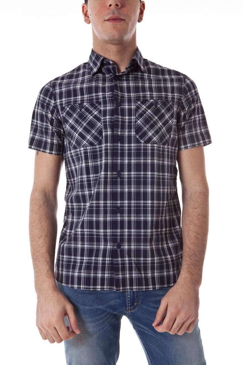 Camicia Armani Jeans AJ Shirt Cotone Uomo Blu Blu Blu R6C01HD 50 e48720