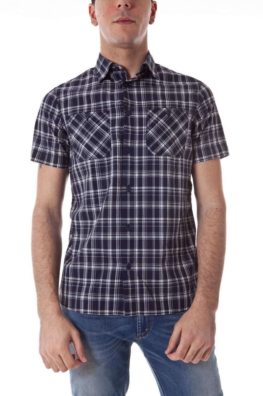 Camicia Armani Jeans AJ Shirt Cotone hombres azul R6C01HD  50  bajo precio
