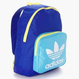 8d1a2c8468 NEW adidas Originals KIDS YOUTHS TREFOIL SCHOOL BAG BACKPACK BOOKBAG ...