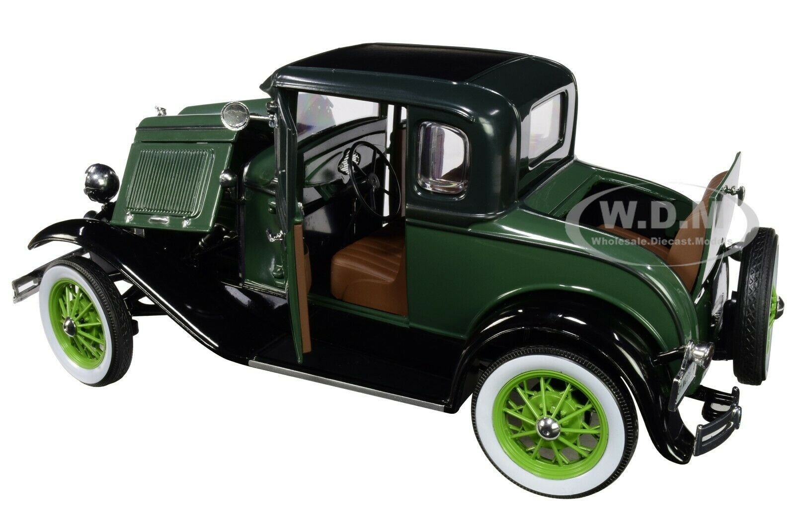 1931 FORD MODEL A COUPE SUN STAR 6136GN 1//18 scale DIECAST CAR