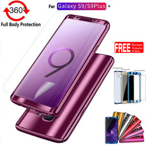 360 Full Body Slim Shockproof Hard Case Cover Skin For Samsung Galaxy S9 S9 Plus