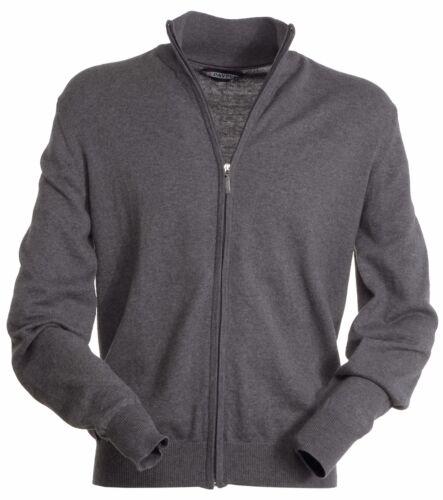 4xl qualita/' super cerniera maglia uomo cardigan taglie forti lana e cotone xs