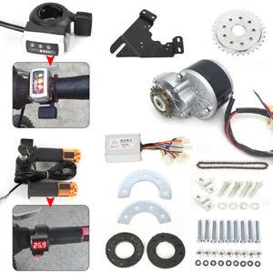 Electric Bicycle Conversion Kit 24V 250W Brush Motor with Freewheel Thumb Kit