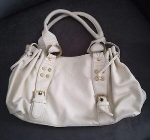 lace up in best sell buy cheap Details zu Tasche Ashley Brooke by HEINE weiß offwhite NEU