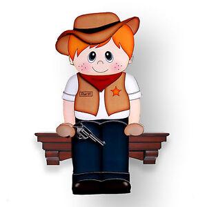 Birthday Blank Little Cowboy Paul 3D Shelf Card Fathers Day SC21