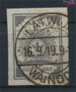 lettonie-11C-oblitere-1919-symbolique-9276941