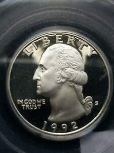 1992-S Silver Proof Washington Quarter
