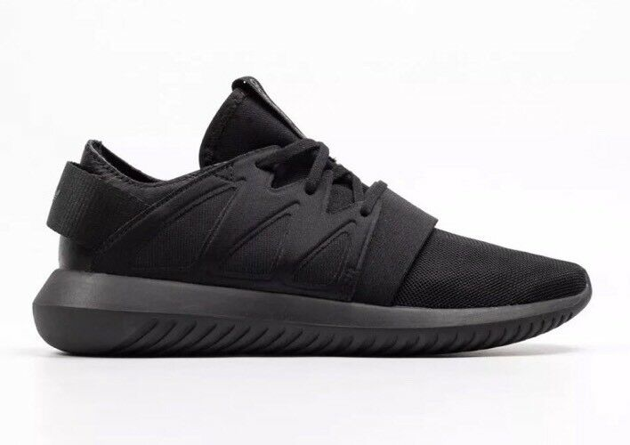 Adidas Originals Men's Tubular Viral W Triple Black Trainers Uk 6