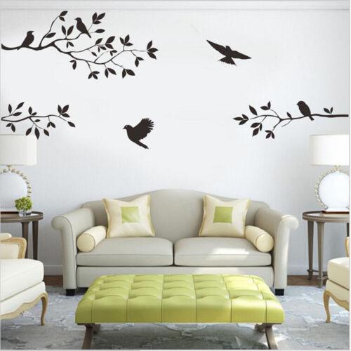 Wall Stickers Removable Art Vinyl Decal Bedroom Mural Home DIY Decor Waterproof