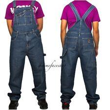 Peviani Mens Women Kinswear Straight Fit Fashion Dungarees Jumpsuit