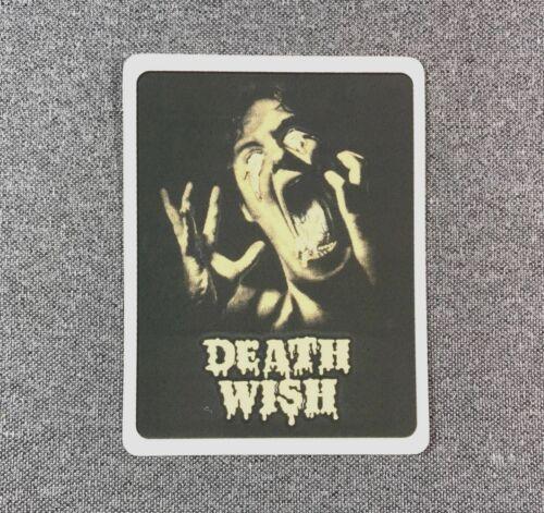 DEATHWISH Irresistible Skateboard Sticker 4in si