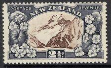 NEW ZEALAND SG560 1935 2½d CHOCOLATE & SLATE MTD MINT