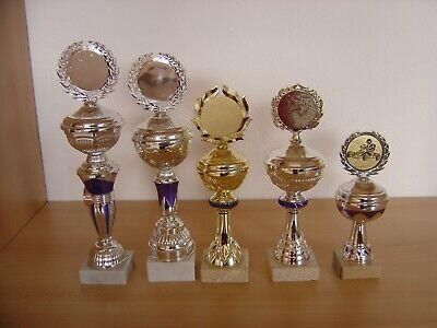 5 Pokale mit Deckel gold Höhe zw. ca. 32 bis 21 cm   eBay