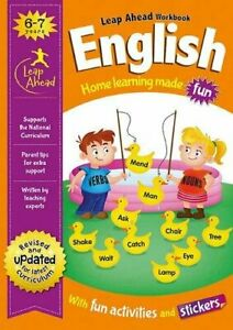 ENGLISH-Leap-ahead-Home-Learning-Workbooks-For-Kids-Age-6-7-years-New
