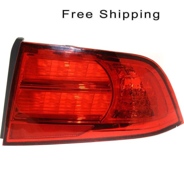 Tail Lamp Lens And Housing Passenger Side Fits Acura TL