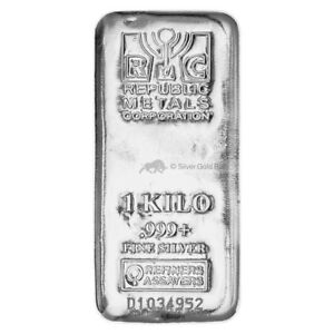 1-kg-kilo-Republic-Metals-Corporation-Silver-Bar