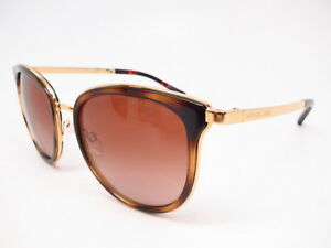 Details about Michael Kors MK 1010 Adrianna I 110113 Tortoise/Gold w/Brown  Gradient Sunglasses