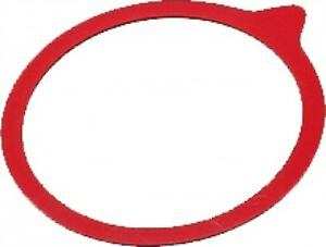 10er Pack Einmachringe Bügelglas Gummiringe 112x128 cm Rot Einkochen Einkochring