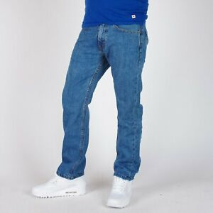 Levi-039-s-505-Regular-Straight-fit-Medium-stonewashed-blau-Herren-Jeans-30-30