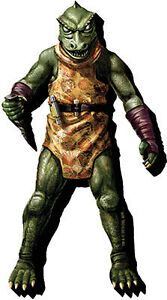 Star Trek Gorn Fridge Magnet AQUARIUS