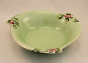 Image Is Loading Royal Winton Grimwades Rosebud Green 9 034 Round