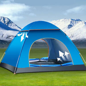 Image Is Loading FOR4 Person Portable Waterproof Instant Pop Up Tent