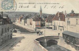 NUITS-SAINT-GEORGES-Le-Pont-de-la-Place-et-la-Grande-Rue