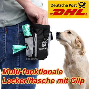 Leckerlibeutel Futterbeutel Gürteltasche Snack Bag Beutel Tasche für Hunde Katze