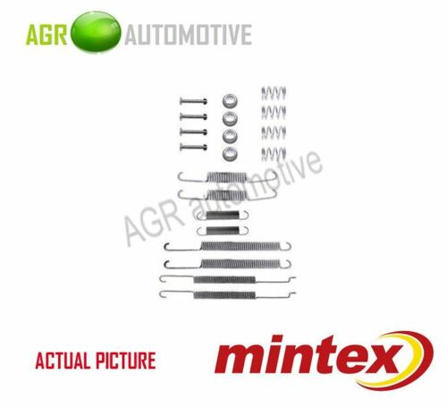 MINTEX REAR BRAKE SHOES SET FITTING KIT PIN SPRINGS GENUINE QUALITY MBA681
