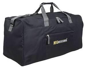 Mud Ice Gravel Men s Extra Large Sports   Gym Holdall Duffle Bag - Black 6b13b00d97940