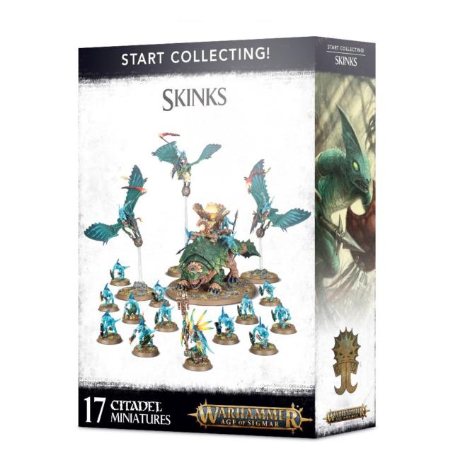 Warhammer Age of Sigmar Lizardmen Skinks NIB
