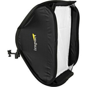 Impact Quikbox Softbox 24 x 24 Inches With Adapter Ring and Mounting Bracket