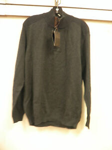 Slate Sweater Mens Nuevo Large Elba Tasso TSqYIy6wBW
