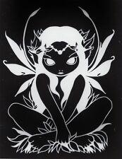 ALLURA Fairy Rub On Sticker Decal Jasmine Becket-Griffith faery goth Strangeling