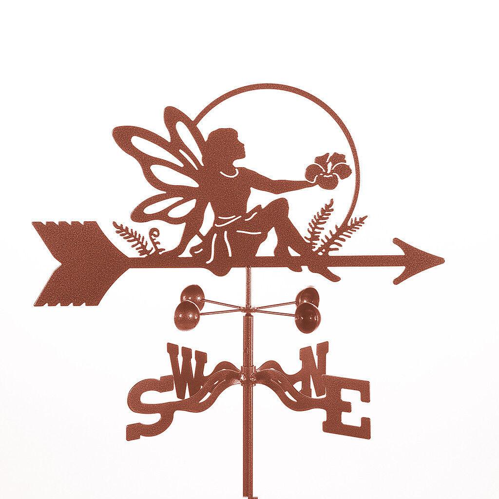 Garden Fairy Weathervane - Pixie, Pixy Weather Vane w/ Choice of Mount