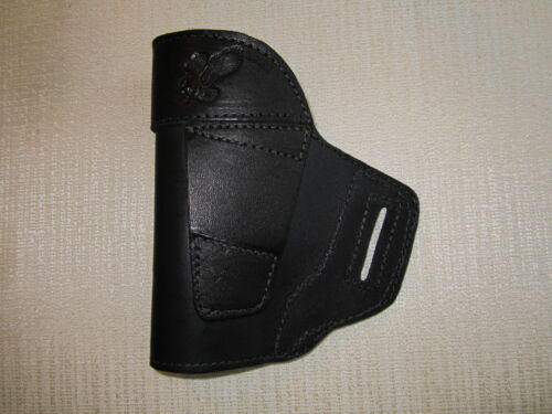 leather owb gun holster Fits GLOCK,M/&P,XD/'S SUB COMPACTS,ALSO SIG P250,FNP