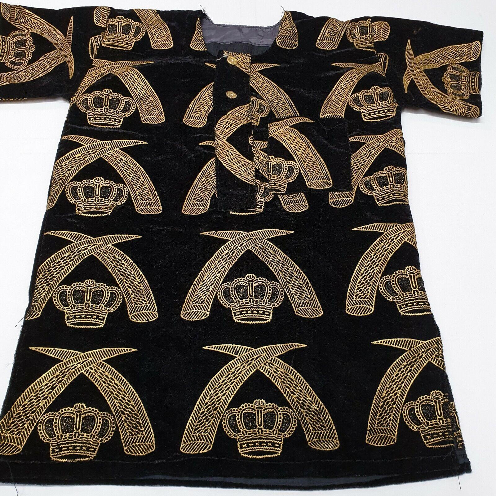 Elegant African Wedding Igbo Traditional Isiagu shirts for child