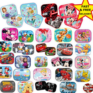 2x Disney Car Sun Shade UV Baby Children Kids Window Visor Cars ... 717b130e840