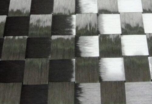 2m² Spread Tow Carbongewebe Leinwand 193g//m² Kohlefaser Karbonfaser CFK HP-P193C