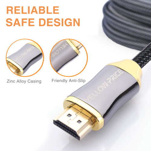 Vention High Speed HDMI 2.0 cable 4k 3D 60Hz HDMI to HDMI Male to Male Cable Lot