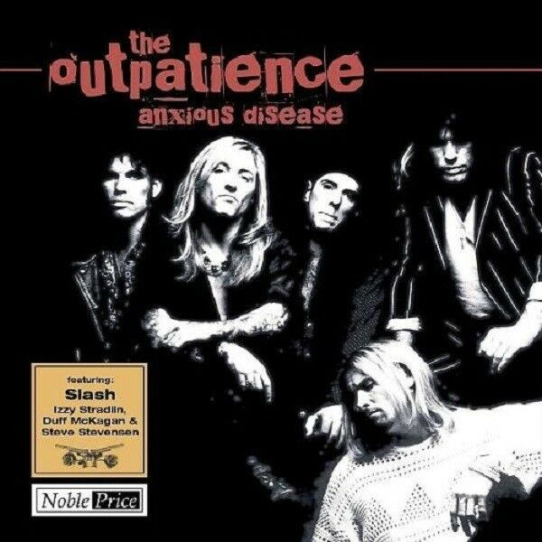 THE OUTPATIENCE - Anxious Disease - CD - Neu OVP - feat.:  Slash  Izzy  Duff