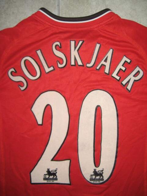 Football Legends of Manchester United Ole Gunnar Solskjaer Banner Scarf