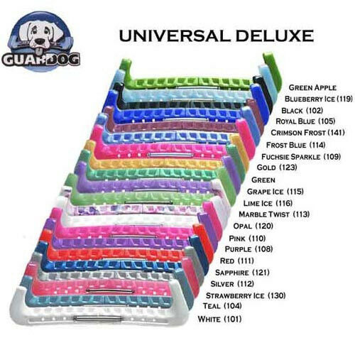 New Universal Ice Skate Hard Guards by GuardDog you can walk in your skates