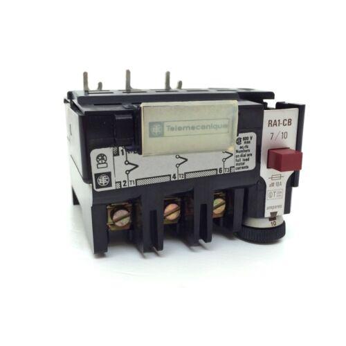 Overload Relay RA1-CB-7//10 Telemecanique 7-10A RA1-CB