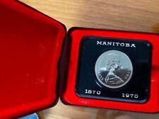 Manitoba in Original Box 1 Proof 1970 CA Canada Dollar like Royal Canadian Mint