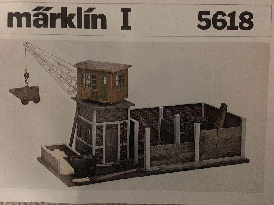 Modeltog, Märklin 5618 Kul station SPOR 1, skala Spor 1