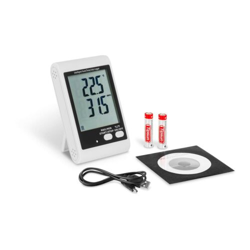 Datenlogger Temperatur Thermometer Luftfeuchte Usb Datenlogger Pc Software LCD