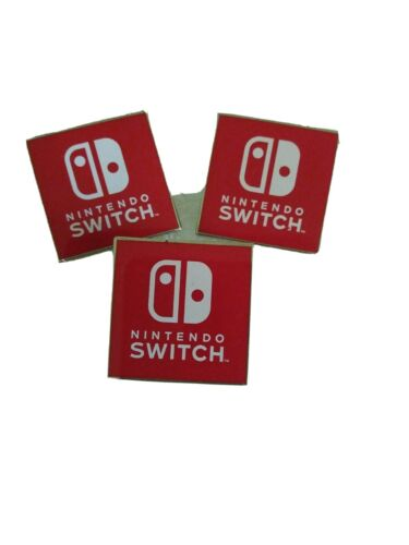 "Collectible NINTENDO SWITCH Lapel Pins - 1 1/4"" 3"