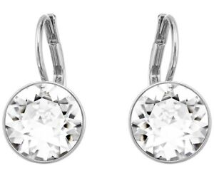 BELLA-MINI-PIERCED-EARRINGS-WHITE-RHODIUM-made-with-Swarovski-Crystal